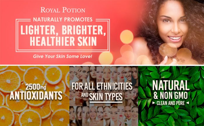 RP Royal Potion Gluta Nivin glutathione skin lightening whitening