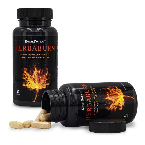 HERBABURN Herbal Weight Loss Supplement Fat Burner Appetite Suppressant Thermogenic Diet Pill - Green Coffee Bean Extract, Raspbery Ketone, Garcinia Cambogia, Green Tea Extract, Caffeine